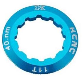 KCNC Shimano Anillo Bloqueo Cassette 10/11/12 velocidades 11D, azul